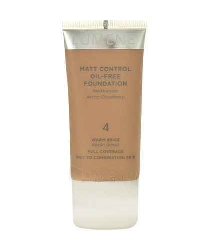 Makiažo pagrindas Lumene Matt Control Oil-Free Foundation Cosmetic 30ml Nr. 4, Warm Beige Paveikslėlis 1 iš 1 310820010848