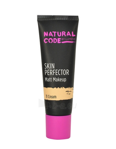 Makiažo pagrindas Lumene Natural Code Skin Perfector Matt Makeup Cosmetic 30ml 12 Fudge Paveikslėlis 1 iš 1 310820011159