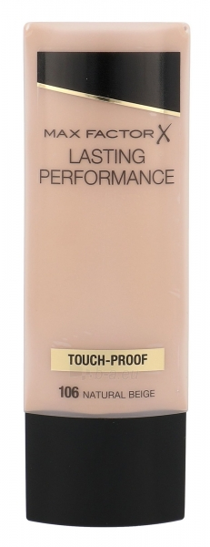 Makiažo pagrindas Max Factor Lasting Performance Make-Up Cosmetic 35ml Natural Beige Paveikslėlis 2 iš 2 250873100540