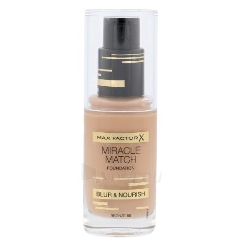 Makiažo pagrindas Max Factor Miracle Match Foundation Cosmetic 30ml Shade 80 Bronze Paveikslėlis 1 iš 1 310820081970