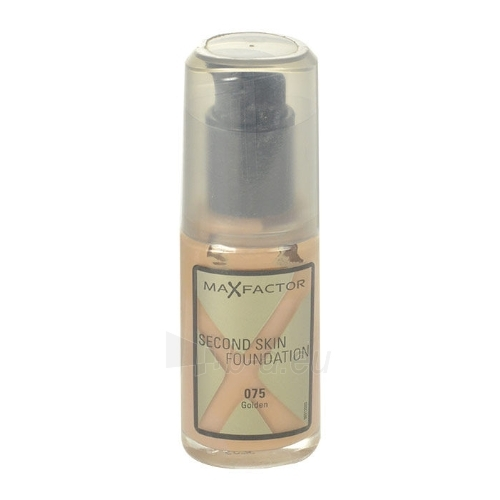 Makiažo pagrindas Max Factor Second Skin Foundation Cosmetic 30ml Nr. 075 Golden Paveikslėlis 1 iš 1 310820013155