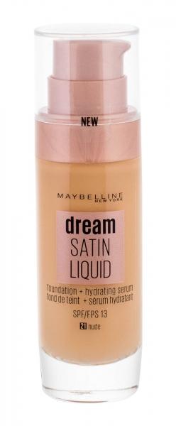 Makiažo pagrindas Maybelline Dream Satin Liquid Foundation Cosmetic 30ml 21 Nude Paveikslėlis 1 iš 2 250873100851