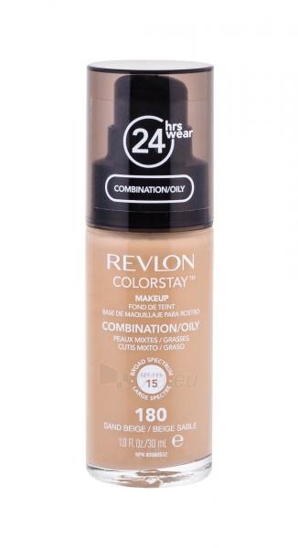 Makiažo pagrindas Revlon Colorstay Makeup Combination Oily Skin 30ml Sand Beige Paveikslėlis 3 iš 3 250873100481