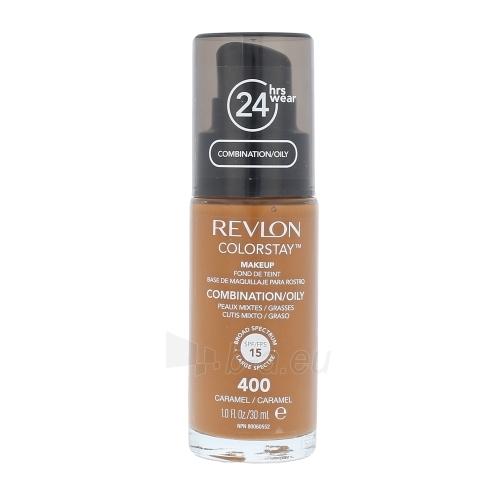 Revlon Colorstay Makeup Combination Oily Skin Cosmetic 30ml 400 Caramel Paveikslėlis 1 iš 1 250873100709