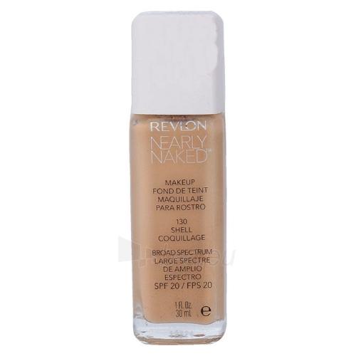 Makiažo pagrindas Revlon Nearly Naked Makeup SPF20 Cosmetic 30ml Shade 130 Shell Paveikslėlis 1 iš 1 310820040587