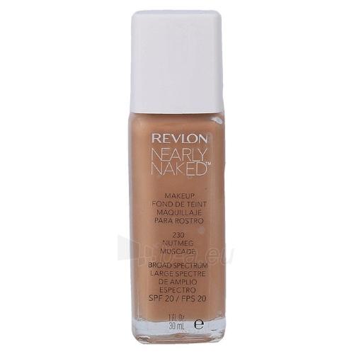 Makiažo pagrindas Revlon Nearly Naked Makeup SPF20 Cosmetic 30ml Shade 230 Nutme Paveikslėlis 1 iš 1 310820040588