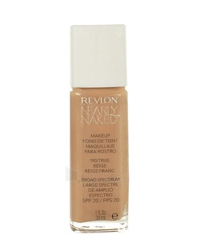 Makiažo pagrindas Revlon Nearly Naked Makeup SPF20 Cosmetic 30ml Shade 210 Sun Beige Paveikslėlis 1 iš 1 310820026467