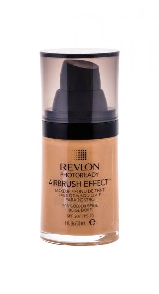 Makiažo pagrindas Revlon Photoready Airbrush Effect Makeup SPF20 Cosmetic 30ml Shade 008 Golden Beige Paveikslėlis 1 iš 2 310820042007