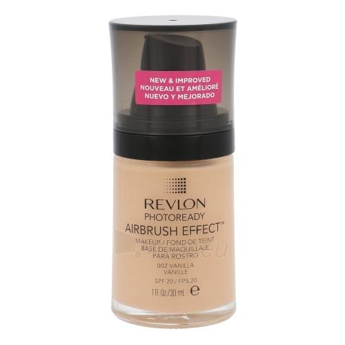 Makiažo pagrindas Revlon Photoready Airbrush Effect Makeup SPF20 Cosmetic 30ml Shade 002 Vanilla Paveikslėlis 1 iš 1 310820038117
