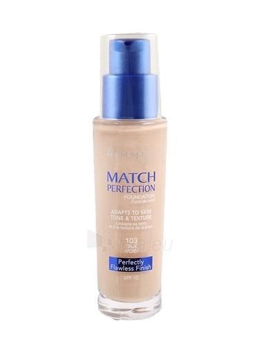 Rimmel London Match Perfection Foundation SPF15 Nr.401 Cosmetic 30ml Paveikslėlis 1 iš 1 250873100125