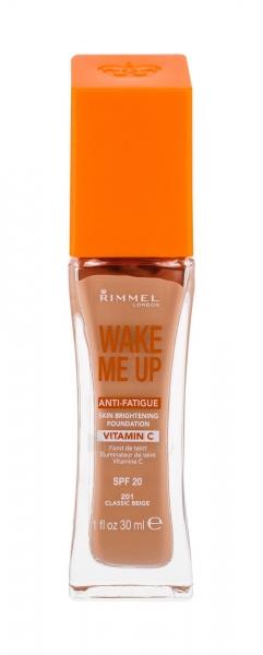 Makiažo pagrindas Rimmel London Wake Me Up Foundation SPF15 Cosmetic 30ml Classic Beige Paveikslėlis 2 iš 2 250873100548