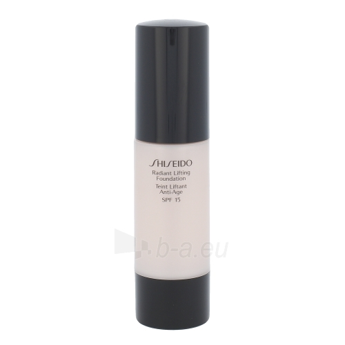 Makiažo pagrindas Shiseido Radiant Lifting Foundation SPF15 Cosmetic 30ml Shade O00 Very Light Ochre Paveikslėlis 1 iš 1 310820043211