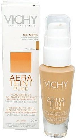 Vichy Aera Teint Pure Fluid Make-up 35 Cosmetic 30ml (Sand) Paveikslėlis 1 iš 1 250873100126