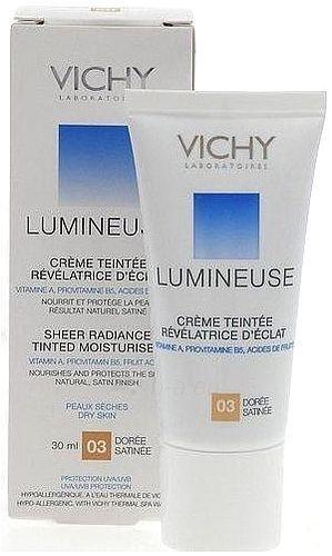 Vichy Lumineuse Tinted Moisturiser Cream 03 Dry Skin Cosmetic 30ml Paveikslėlis 1 iš 1 250873100095