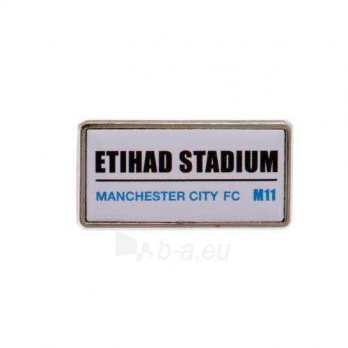 Manchester City F.C.  prisegamas ženklelis Paveikslėlis 3 iš 3 251009001294