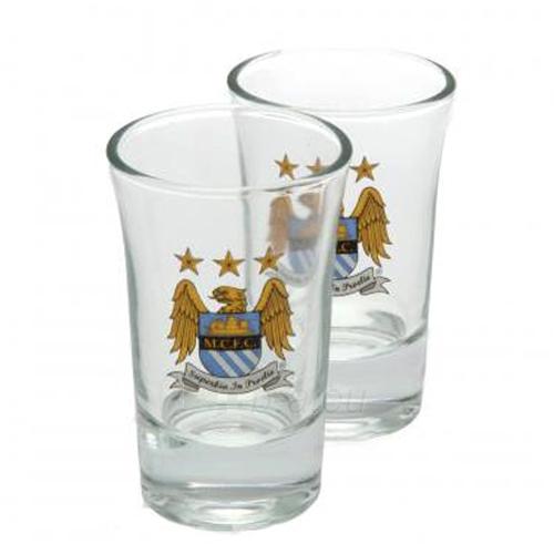 Manchester City F.C. dviejų stikliukų rinkinys Paveikslėlis 1 iš 4 251009000651
