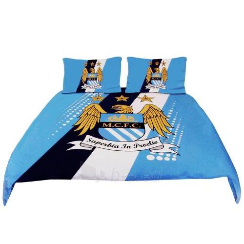 Manchester City F.C. dvigulės patalynės komplektas Paveikslėlis 1 iš 3 251009000652