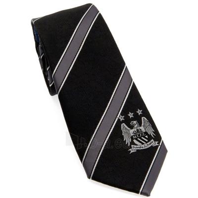 Manchester City F.C. kaklaraištis (Juodas) Paveikslėlis 1 iš 3 251009000661