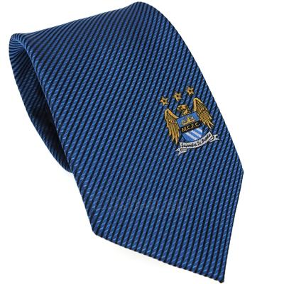 Manchester City F.C. kaklaraištis (Mėlynas) Paveikslėlis 1 iš 3 251009000662