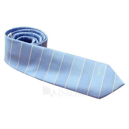 Manchester City F.C. kaklaraištis (Šviesiai mėlynas) Paveikslėlis 2 iš 2 251009000666