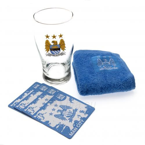 Manchester City F.C. mini baro rinkinys (Logotipas) Paveikslėlis 1 iš 3 251009000686
