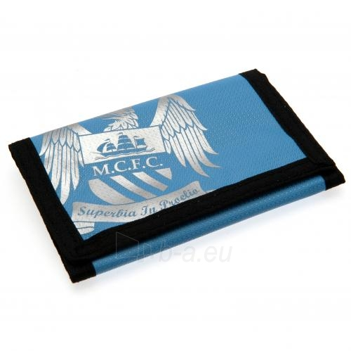 Manchester City F.C. piniginė (Mėlyna) Paveikslėlis 1 iš 5 251009000697