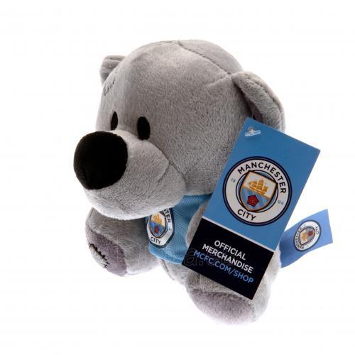 Manchester City F.C. pliušinis meškiukas (Pilkas) Paveikslėlis 4 iš 4 310820060902