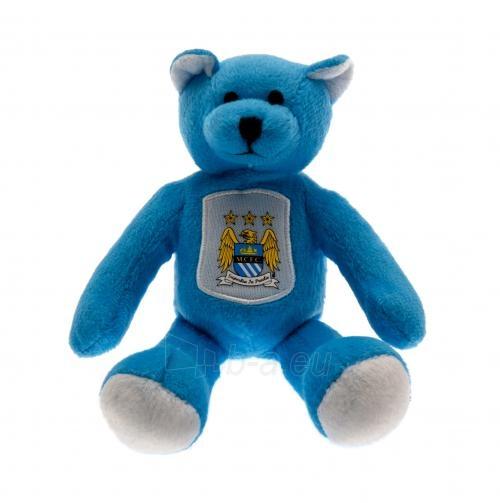 Manchester City F.C. pliušinis meškiukas (Ryškiai mėlynas) Paveikslėlis 1 iš 2 251009001507