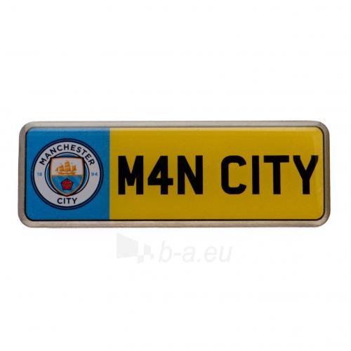 Manchester City F.C. prisegamas ženklelis (Numeris) Paveikslėlis 1 iš 3 310820060879