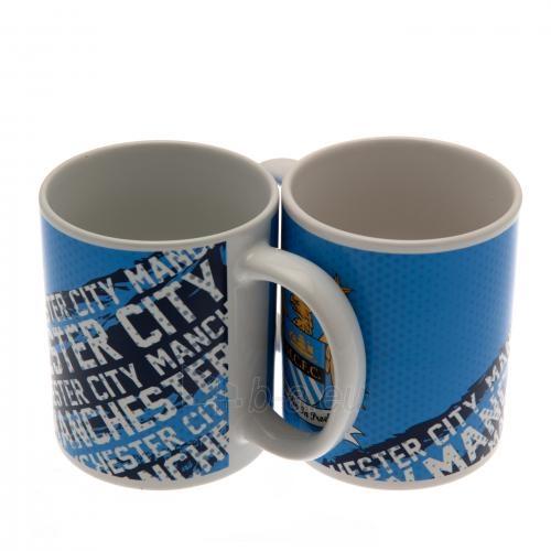 Manchester City F.C. puodelis (Baltas su logotipais) Paveikslėlis 1 iš 6 251009001142