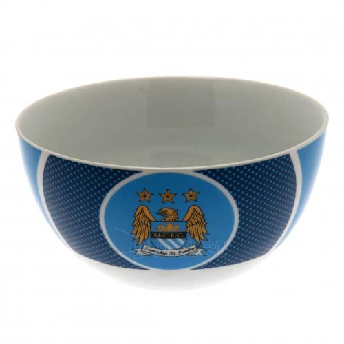 Manchester City F.C. pusryčių dubenėlis (Mėlynas) Paveikslėlis 1 iš 4 251009000711