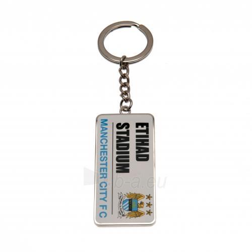 Manchester City F.C. raktų pakabukas (Etihad stadionas) Paveikslėlis 1 iš 4 251009001631