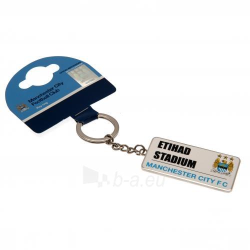 Manchester City F.C. raktų pakabukas (Etihad stadionas) Paveikslėlis 2 iš 4 251009001631