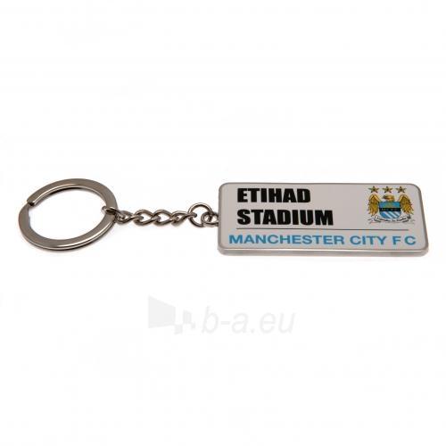 Manchester City F.C. raktų pakabukas (Etihad stadionas) Paveikslėlis 4 iš 4 251009001631