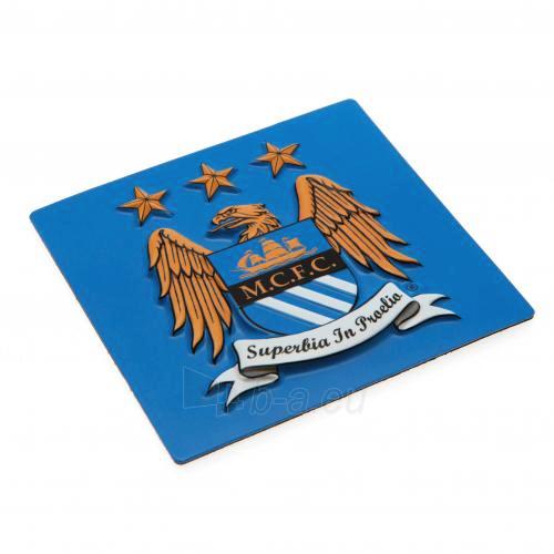 Manchester City F.C. šaldytuvo magnetas (Kvadratinis) Paveikslėlis 1 iš 4 251009000727