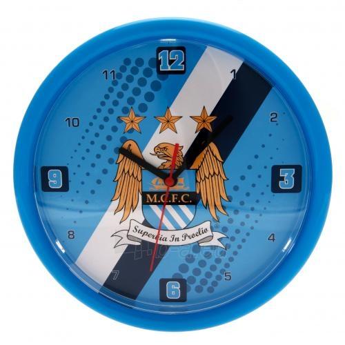 Manchester City F.C. sieninis laikrodis Paveikslėlis 1 iš 3 251009000731