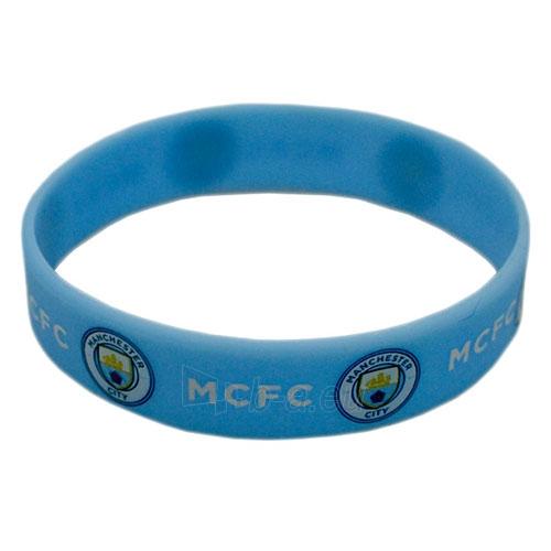 Manchester City F.C. silikoninė apyrankė Paveikslėlis 2 iš 2 251009000732