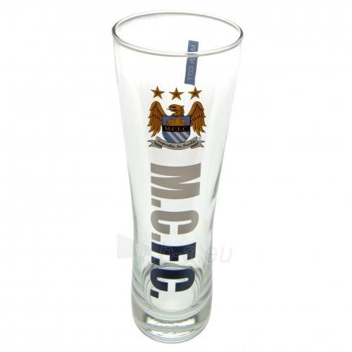 Manchester City F.C. stiklinė alaus taurė Paveikslėlis 1 iš 3 251009000738