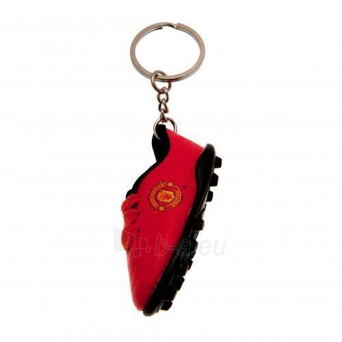 Manchester United F.C. batelio formos raktų pakabukas Paveikslėlis 1 iš 4 251009001305