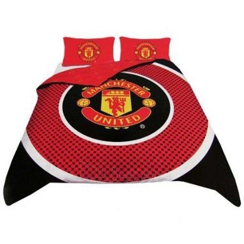 Manchester United F.C. dvigulės, dvipusės patalynės komplektas Paveikslėlis 1 iš 3 251009000767