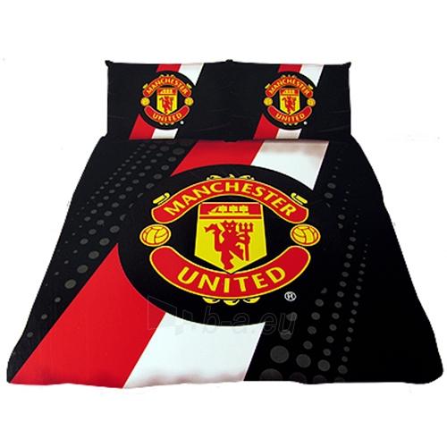 Manchester United F.C. dvigulės patalynės komplektas Paveikslėlis 1 iš 3 251009000766