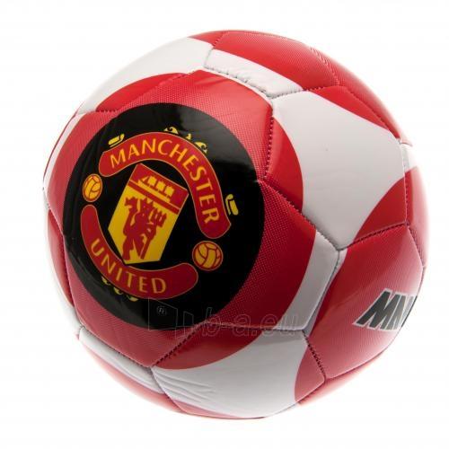 Manchester United F.C. futbolo kamuolys (Balta-raudona) Paveikslėlis 1 iš 4 251009001493