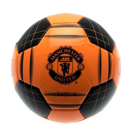 Manchester United F.C. futbolo kamuolys (Oranžinis) Paveikslėlis 1 iš 4 251009000775
