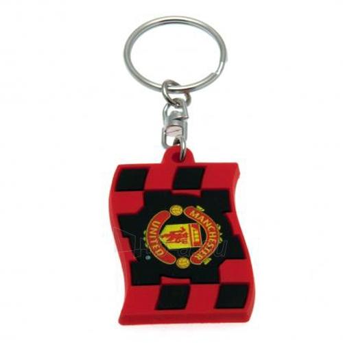 Manchester United F.C. guminis raktų pakabukas Paveikslėlis 1 iš 3 251009000777