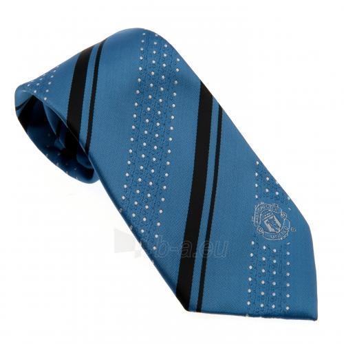 Manchester United F.C. kaklaraištis (Mėlynas) Paveikslėlis 1 iš 3 251009000784