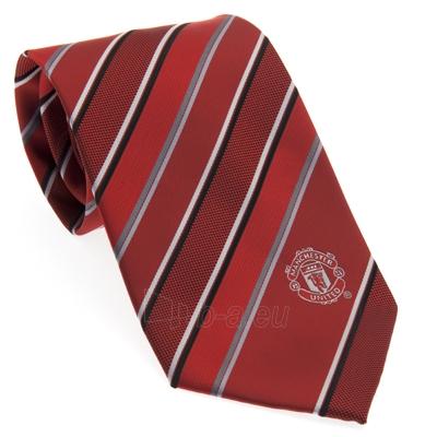 Manchester United F.C. kaklaraištis (Raudonas, dryžuotas) Paveikslėlis 1 iš 3 251009001478