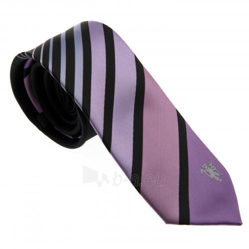 Manchester United F.C. kaklaraištis (Violetinis) Paveikslėlis 1 iš 3 251009000786