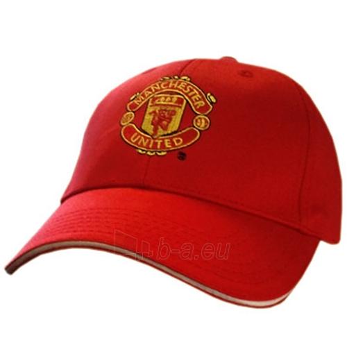 Manchester United F.C. kepurėlė su snapeliu (Raudona) Paveikslėlis 1 iš 2 251009001477