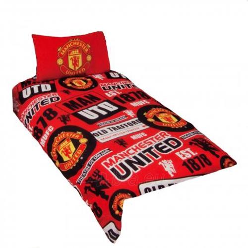 Manchester United F.C. patalynės komplektas (Logotipai) Paveikslėlis 1 iš 4 251009000815