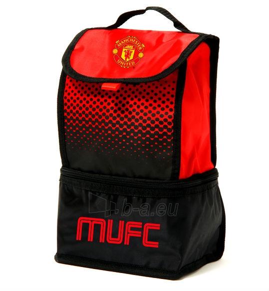 Manchester United F.C. priešpiečių krepšys (Raudonas/Juodas) Paveikslėlis 1 iš 2 310820061022